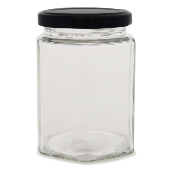 KATES HEXAGONAL JAR 280 ML