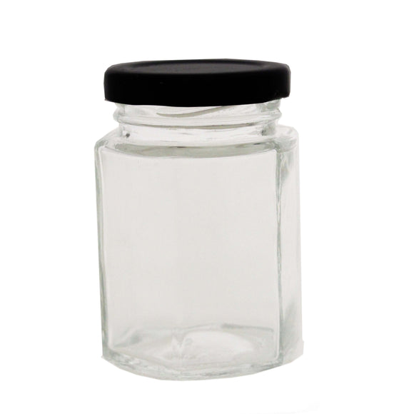 KATES HEXAGONAL JAR 100 ML