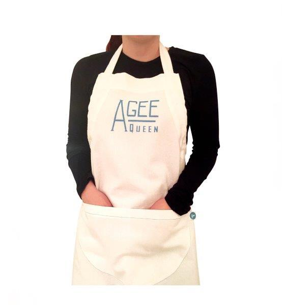 AGEE APRON ADJUSTABLE 80X62CM