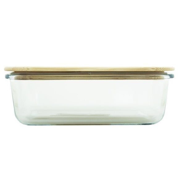 GLASS CONTAINER 1520ML WITH BAMBOO LID