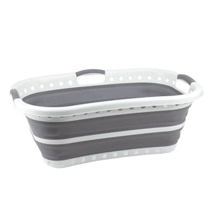COLLAPSE-A HIP HUGGER BASKET GREY