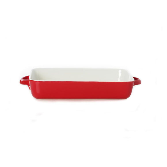 KATES RED RECT BAKER 30 X 21 CM