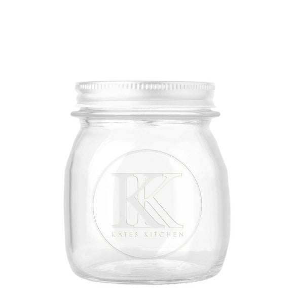 KATES EMBOSSED PRESERVING JAR 250 ML