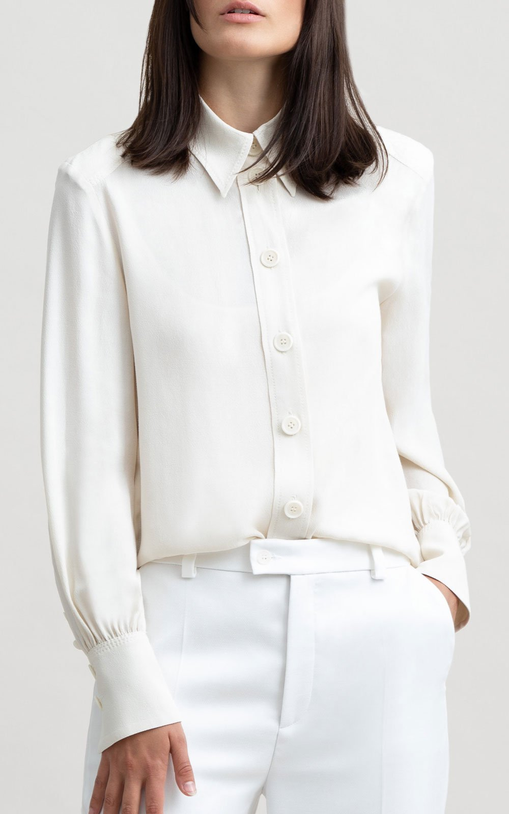 Athos design blouse off white