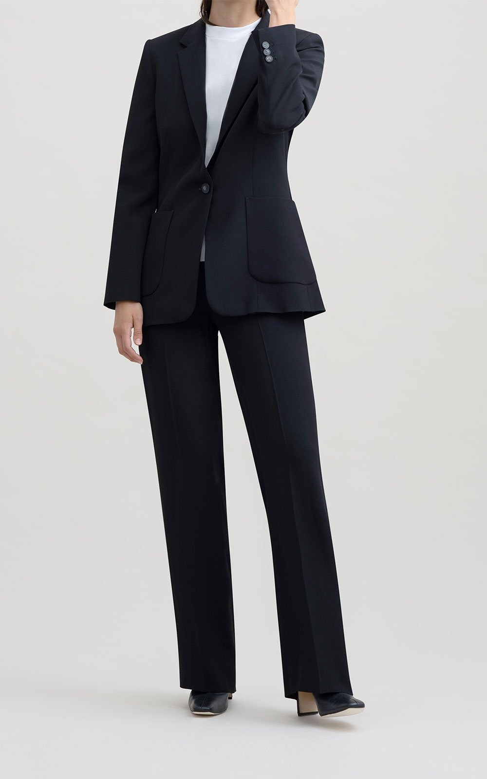 Bomary black trousers