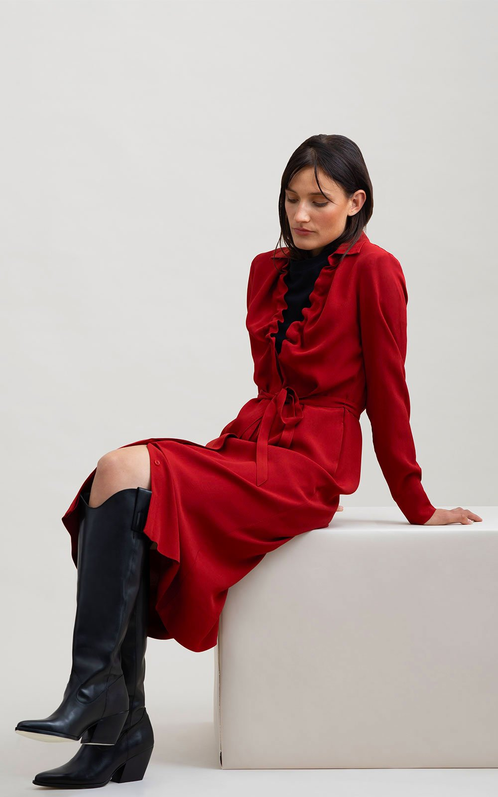 Design dress red