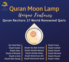 Load image into Gallery viewer, Quran Moon Lamp