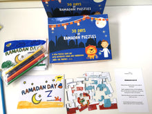 Load image into Gallery viewer, 30 Days of Ramadan Puzzles - Salam Occasions - Yalla Kids