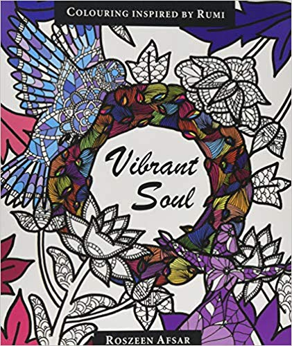 Vibrant Soul: Coloring Inspired by Rumi