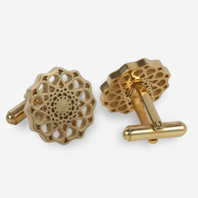 Load image into Gallery viewer, Isfahan Cufflink - Gold