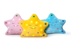 My Dua Star Pillow - Yellow