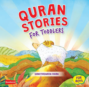 Quran Stories for Toddlers - for Boys (Hardback)