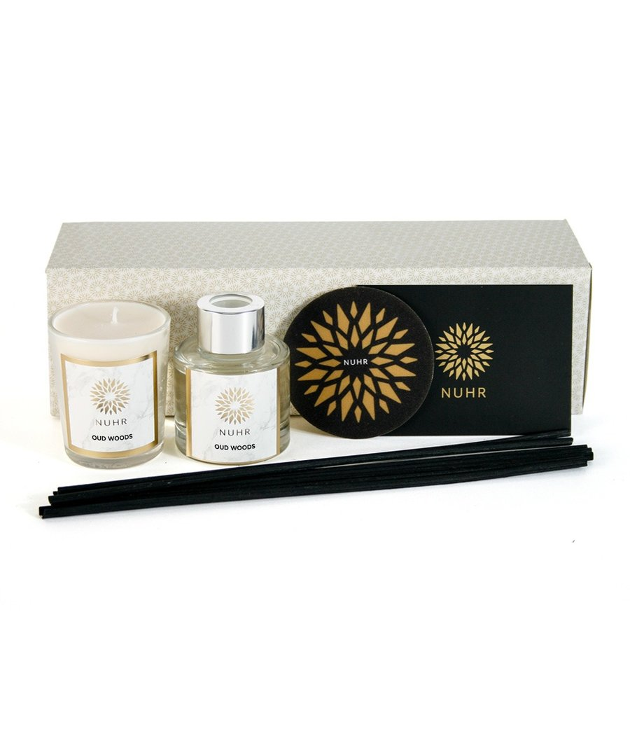 Nuhr Home - Mini Gift Set - Oud Woods