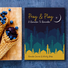 Load image into Gallery viewer, Pray & Play: Ramadan Journal and Activity Book