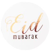 Load image into Gallery viewer, Eid Mubarak Foil Stickers - Rose Gold