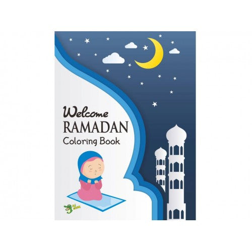 Welcome Ramadan Colouring Book