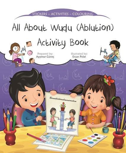 All About Wudu (Ablution) Activity Book - Salam Occasions - Kube Publishing