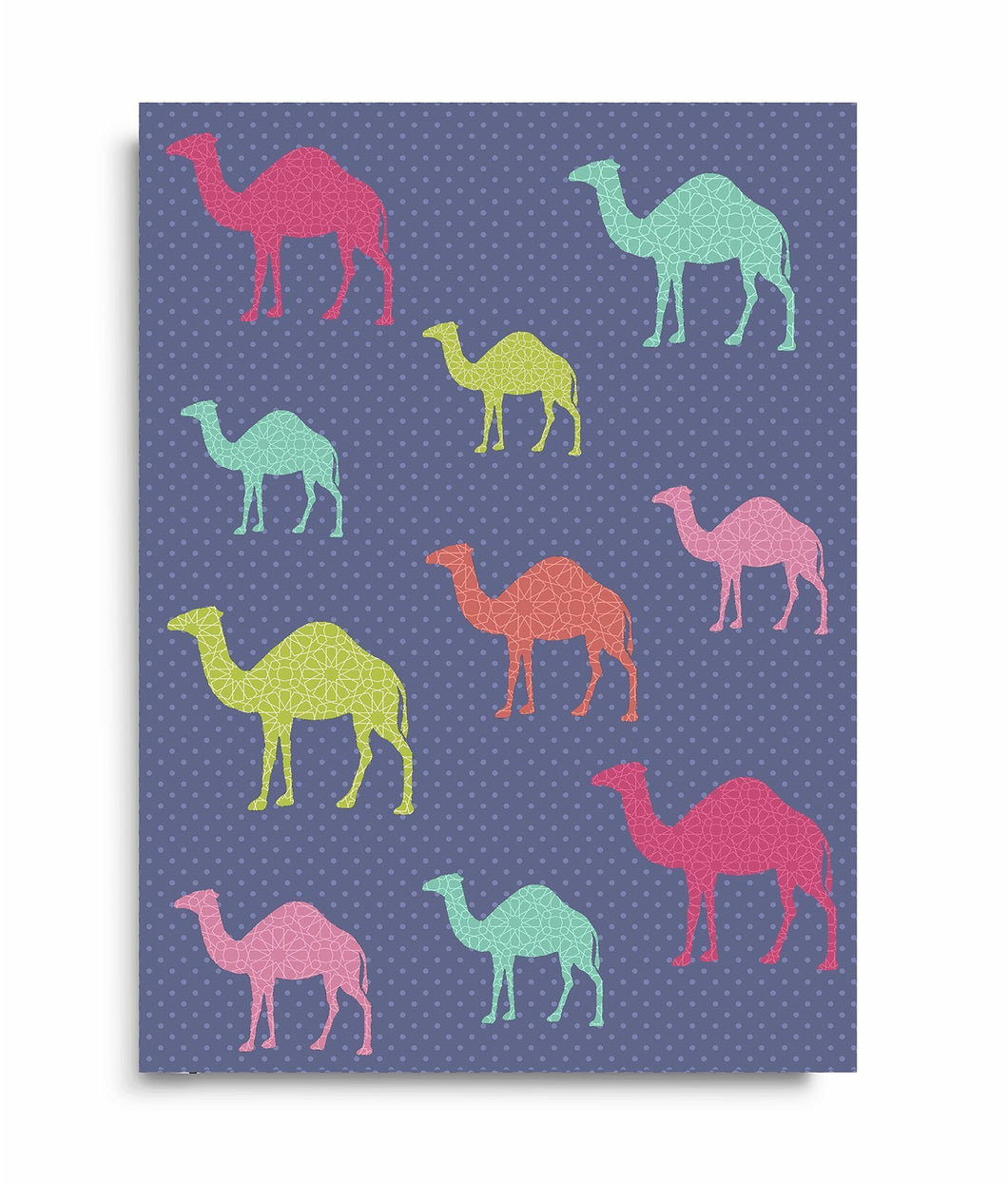Camel Caravan - Perfect Bound Notebook - Salam Occasions - Islamic Moments