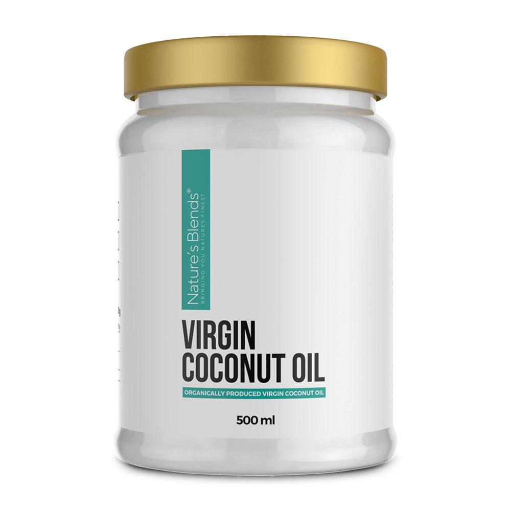 Organic Virgin Coconut Oil (500ml)