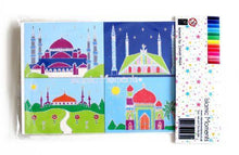Load image into Gallery viewer, Colour My Mosque Set - Salam Occasions - Islamic Moments