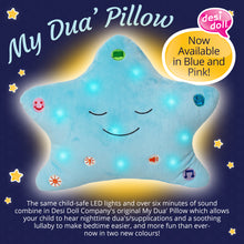 Load image into Gallery viewer, My Dua Star Pillow - Blue