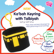 Load image into Gallery viewer, Kabah Keyring with Talbiyah - Islamic Keyring