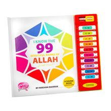 Load image into Gallery viewer, 99 Names of Allah Sound Book