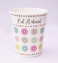 Load image into Gallery viewer, Eid Mubarak Party Cups - Pack of 5 - Salam Occasions - Islamic Moments