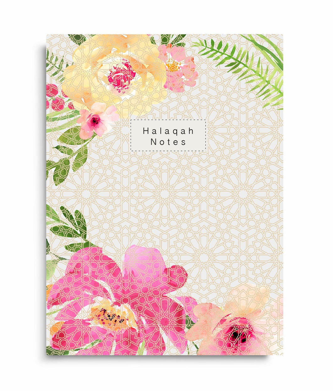 Halaqah Notes - Perfect Bound Islamic Notebook - Salam Occasions - Islamic Moments