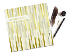 Load image into Gallery viewer, Ramadan Kareem Card - Golden Strips