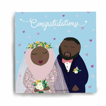Load image into Gallery viewer, Congratulations Islamic Wedding Card