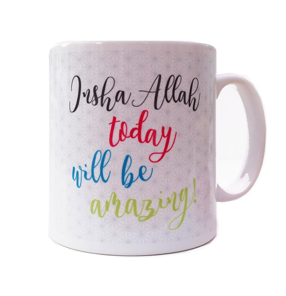 Inshallah Today Will Be Amazing - Mug - Salam Occasions - Islamic Moments