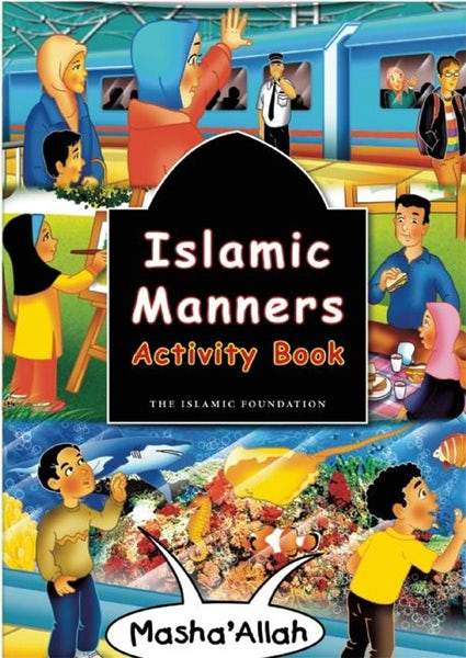 Islamic Manners Activity Book - Salam Occasions - Kube Publishing