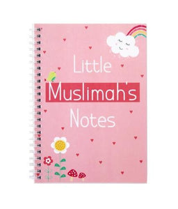 Little Muslimahs Notes - Notebook - Salam Occasions - Islamic Moments