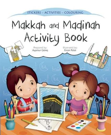 Makkah and Madinah Activity Book - Salam Occasions - Kube Publishing