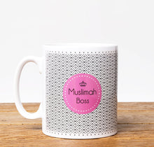 Load image into Gallery viewer, Muslimah Boss - Mug - Salam Occasions - Islamic Moments
