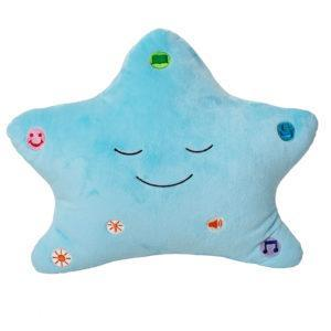 My Dua Star Pillow - Blue - Salam Occasions - Desi Doll Company