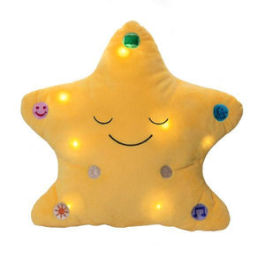 My Dua Star Pillow - Yellow - Salam Occasions - Desi Doll Company