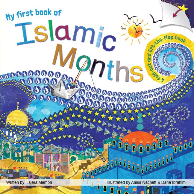 My First book of Islamic Months (Fold-out & Flap book) - Salam Occasions - Shade7 Publishing