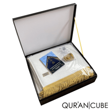 Load image into Gallery viewer, Quran Cube – Super Soft Prayer Mat Gift Set