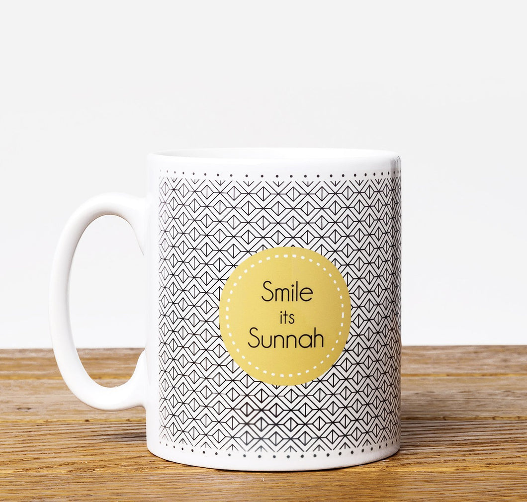 Smile It's Sunnah - Mug - Salam Occasions - Islamic Moments
