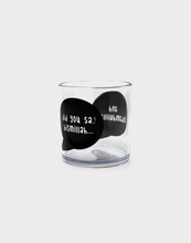 Load image into Gallery viewer, Speech Bubble Bismillah Tumbler - Clear