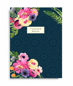 Tajweed Notes - Perfect Bound Notebook - Salam Occasions - Islamic Moments