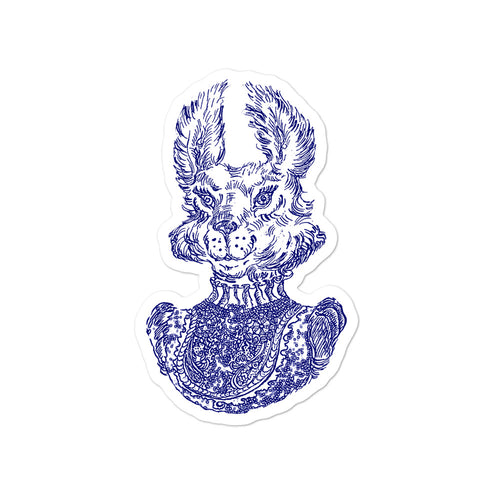 "Sticker ""Mrs Rabbit"""