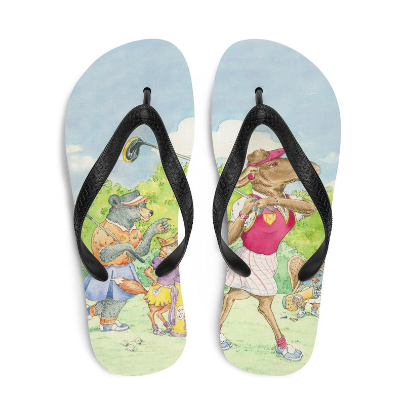 "Flip-Flops ""Gals on the Fairway"""
