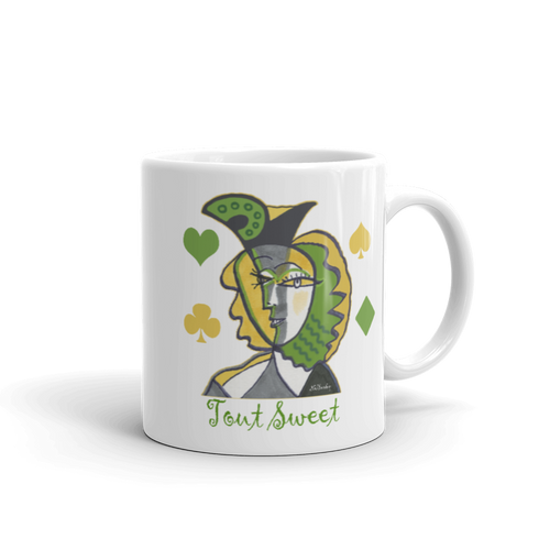 "Mug ""Tout Sweet"" inspired by Picasso"