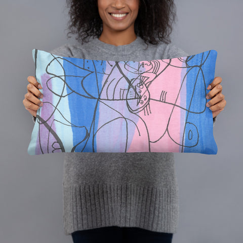 Throw Pillow - Picasso Inspired