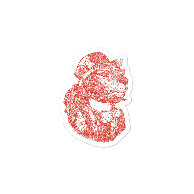 "Sticker ""Sir Lion"""