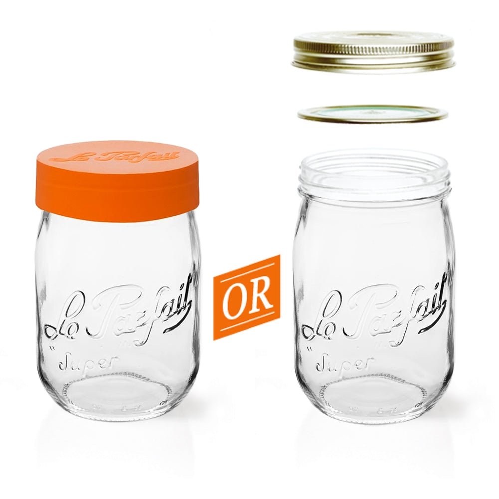 Le Parfait Screw Top Glass Jars