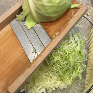 Load image into Gallery viewer, Cabbage Shredder (Wooden)